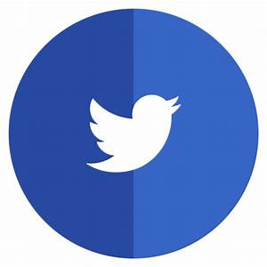 Twitter Icon - Flat Circles Icon Pack - SoftIcons.com