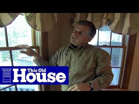 replace  window sash spring balancer   house youtube