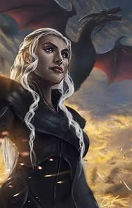 Daenerys and Drogon Fanart by Gallardose on DeviantArt