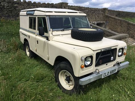 clo 589y 1983 series 3 109 stage 1 v8 quot utility quot land rover centre