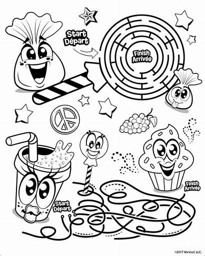 Coloring Pages Scentos Printable Games Whole Level