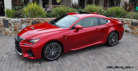 lexus cars red 2015 lexus rc f ultra in red flawless animations