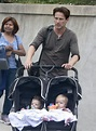 Stephen Moyer Brings His Twins To Work | Celeb Baby Laundry