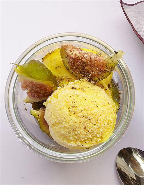 cuisine glace yaourt glacé au curcuma et au poivre pour 4 personnes recettes à table