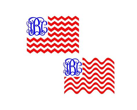 4Th Of July Monogram Svg Free  – 96+ Crafter Files