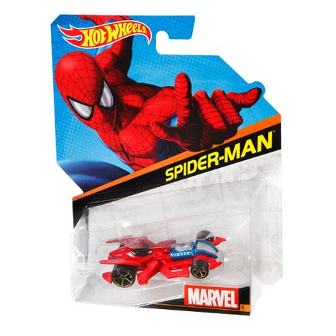 hot wheels marvel character cars spiderman toys toy