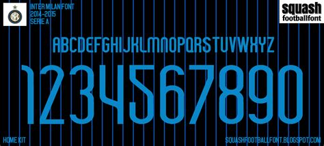 SFF: Inter Milan 2014-2015 Font