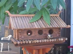 Japanese Style Bird Houses