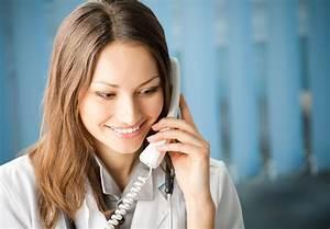 Young Beautiful Girl Using Phone