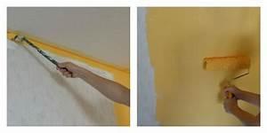 Wie Streicht Man Eine Decke : wie streicht man eine wand mit streifen ostseesuche com ~ Buech-reservation.com Haus und Dekorationen