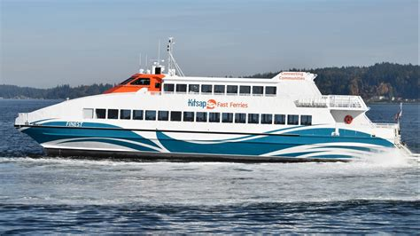 Kitsap Transit's Newest Foot Ferry Was Part Of Historical