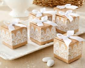 kate aspen wedding favors rustic and lace kraft favor box rustic wedding favors by kate aspen