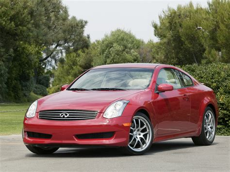 2006 Infiniti G35 Sport Coupe Front Angle 1280x960
