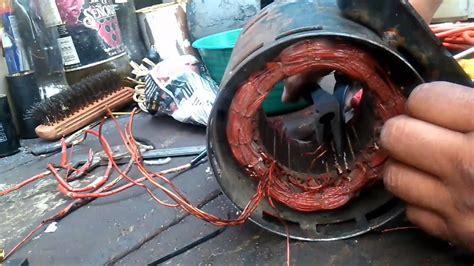 embobinado motor monof 225 sico 4 polos youtube