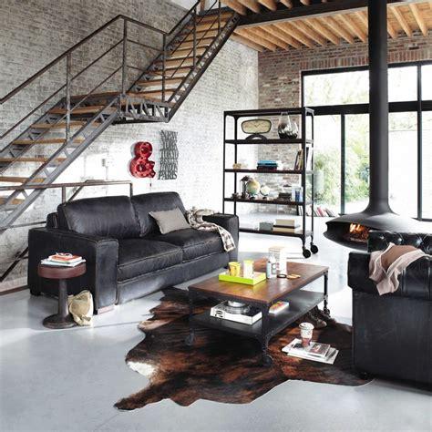 best 25 canape cuir noir ideas on salon cuir