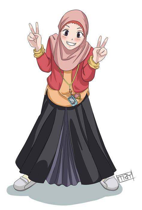 Wanita Hamil Cantik Berhijab Kartun Muslimah Terbaru 2013 Auto Design Tech