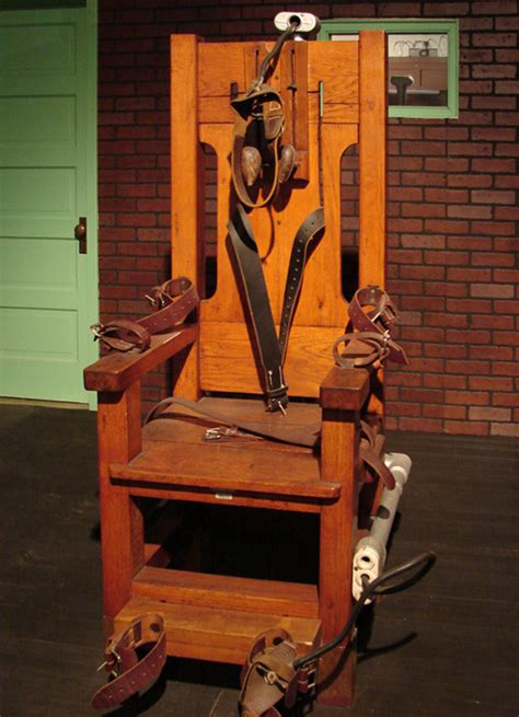 old sparky electric chair