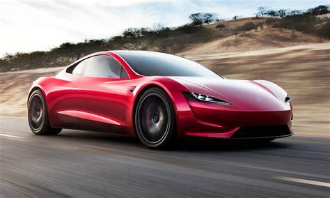 tesla roadster kills  supercar  speed marks