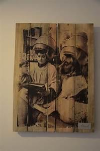 Deco Murale Vintage : wall illustration d coration murale d co industrielle ~ Melissatoandfro.com Idées de Décoration