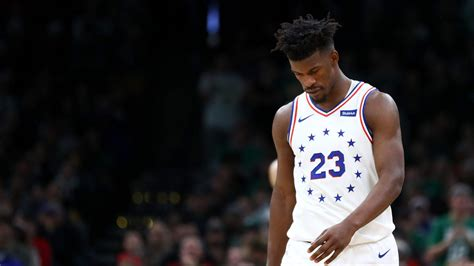 sixers roster lineup  nuggets jimmy butler injury