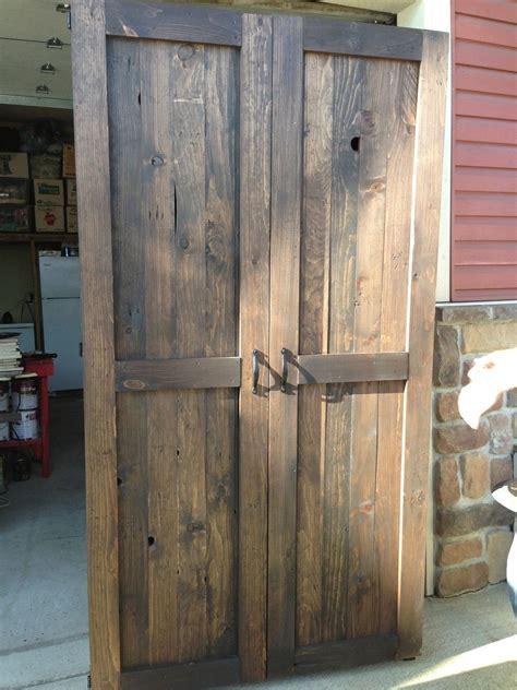 custom  reclaimed wood armoirepantry rustic pantry