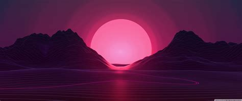 synthwave background ultra hd desktop background wallpaper