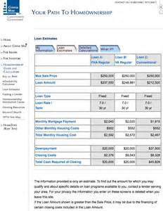 Estimate Home Loan Payments by Fha Loans How Can I Estimate My Monthly Mortgage Payment