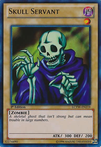 skull servant deck link format skull servant yu gi oh