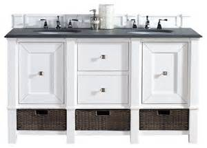 60 quot single vanity cabinet cottage white country bathroom vanities and sink consoles