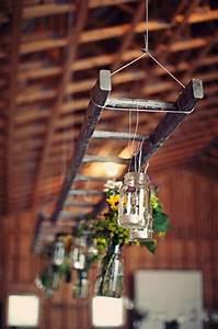 Top, Wooden, Ladder, Wedding, Decor, Ideas, To, Diys, Fast, Chic, U0026, Easy