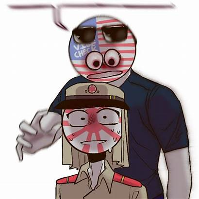 Countryhumans Empire America Japanese Country Ask Bomb