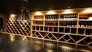 Caves A Vin : cave vin sur mesure contemporain cave vin ~ Melissatoandfro.com Idées de Décoration