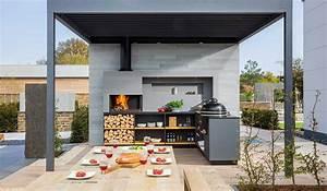 l39univers de la cuisine exterieure et ambiance barbecue co With cuisine d ete exterieur