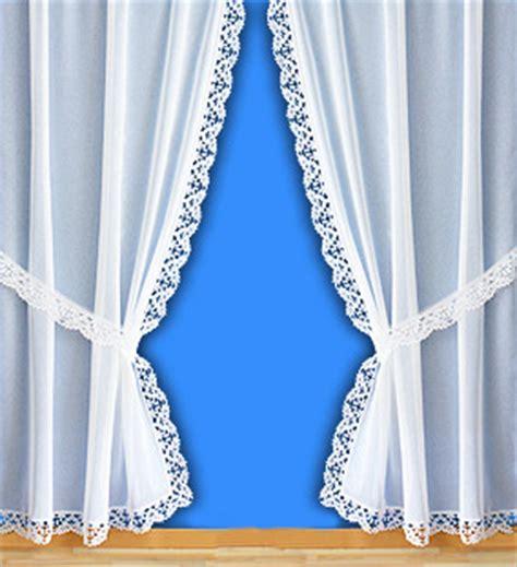 voilages style rideau bonne femme avec bordure macram 233