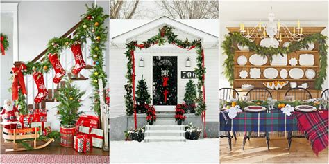 christmas garland ideas decorating  holiday