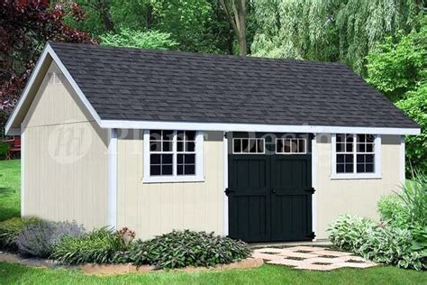 how to build 14 20 gable roof storage shed d1420g material list included 610708152224 ebay