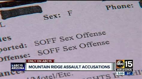 Two Former Mountain Ridge Students Accused Of Sexual