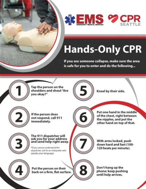 cpr seattle multi language hands  cpr materials