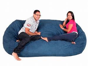 Extra large bean bag chairs for adults home furniture design for Big bean bag chairs for adults