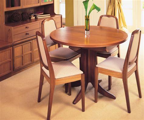 Nathan Classic Teak 2124 Circular Pedestal Dining Table