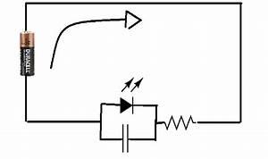 Flashing Led Circuit Diagram