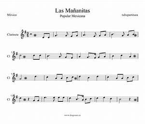 Tubepartitura Partitura De Las Maanitas Para Clarinete