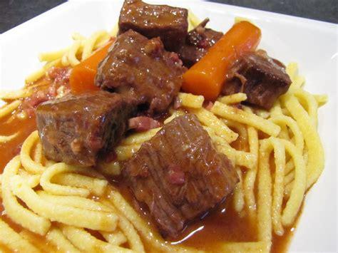 cuisiner bourguignon comment cuisiner gite de boeuf