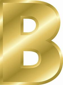 letter b capital free vector graphic on pixabay With gold letter b