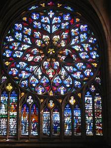 Sens Cathedral Rose Window to color | Religion: Religion ...