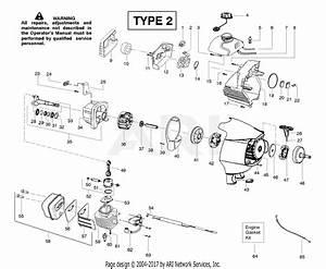 Poulan Sm446e Pole Pruner Type 2 Parts Diagram For Engine
