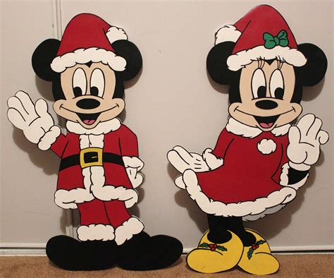christmas  disney minnie mouse  mickey mouse