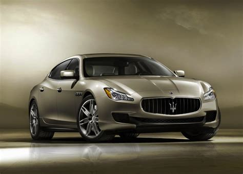 2014 Maserati Quattroporte Getting Turbo Pentastar V6