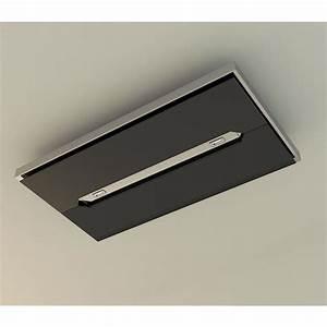 Hotte Inclinee Airforce : airforce gemma verre noire hotte plafond pour la cuisine ~ Premium-room.com Idées de Décoration