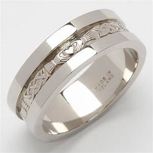 sterling silver mens heavy weight claddagh wedding ring ebay With ebay mens wedding rings